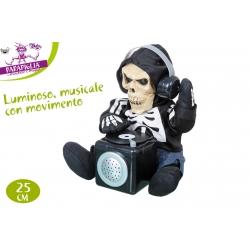 SCHELETRO DJ C/LUCI B/O