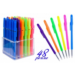 DISPLAY PVC 48 PENNE SFERA 6ASS