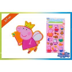 SET STICKER 3D DA MURO PEPPA PIG