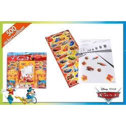 SET 500 STICKERS CARS