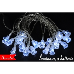 CATENA LUMINOSA BABBI 20L B/O