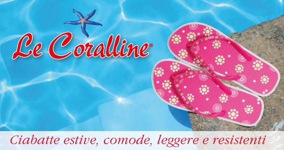 Ciabatte mare - Le coralline